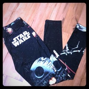 Star Wars by Mighty Fine Sz M leggings